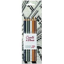 Conté à Paris Sketch - Paquete de 6 lápices de colores, multicolor