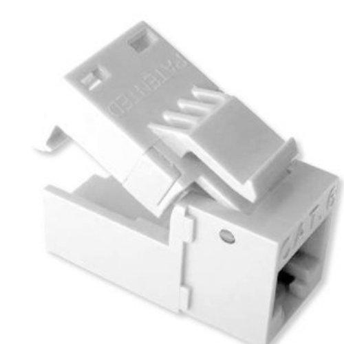 Platinum Tools EZ-SnapJack Cat6, White. 4/Clamshell. by Platinum Tools -