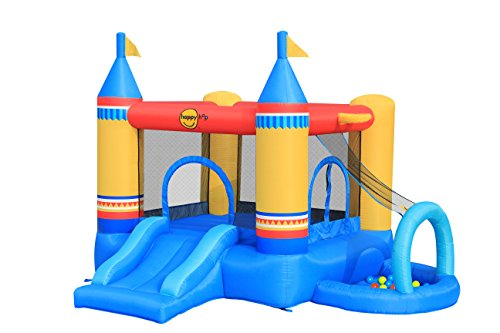 Castello gonfiabile 4 in 1 art.9514 centro giochi happy hop