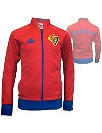 Rosso Specifico Abbigliamento Uomo Amazon it Adidas Felpa wgOq7AST