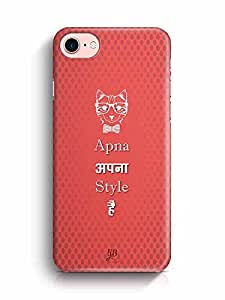 YuBingo Apna apna Style Hai Designer Mobile Case Back Cover for Apple iPhone 7