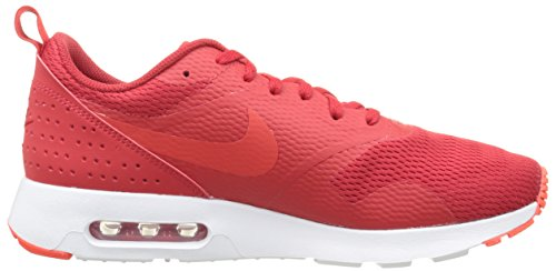 Nike Air Max Tavas, Sneakers Basses Homme Rouge (University Red/Lt Crimson-Wht)