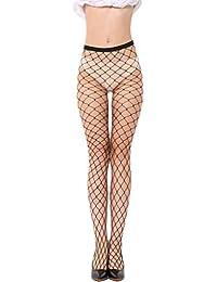 YiyiLai Collant Résille Noir Femme Tulle Legging Collants Fantaisie Sexy  Lingerie de Nuit Coquine 4545f4f42a2