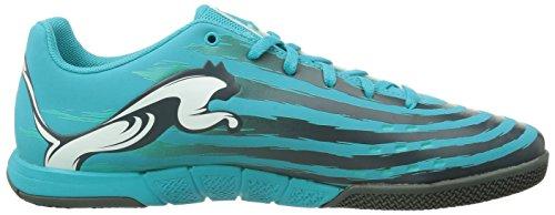 Puma Trovan Lite Herren Hallenschuhe Blau (scuba blue-white-black-pool green 07)
