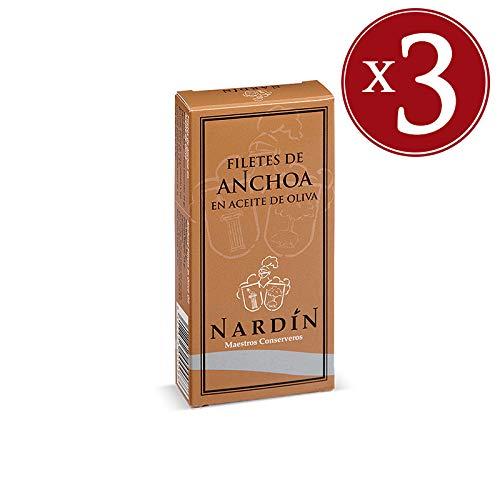 Acciughe Cantabrico Nardin - 50 gr [3 CONFEZIONI]