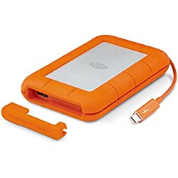 LaCie Rugged Thunderbolt 2 To, disque dur externe mobile (1x USB 3.0, 1x Thunderbolt) - STEV2000400
