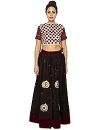 Rina Dhaka Women's A-Line Maxi Dress