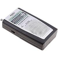 Sharplace Radio FM AM Portàtil Bolsillo de Receptor Altavoz de color Plata