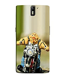 FUSON Designer Back Case Cover for OnePlus One :: OnePlus 1 :: One Plus One (Bike Stunner Speed Motor cycles Racing Cars)