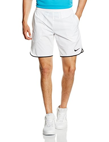 Nike Herren Oberbekleidung Gladiator 9 Zoll Shorts, weiß, L, 728980-100