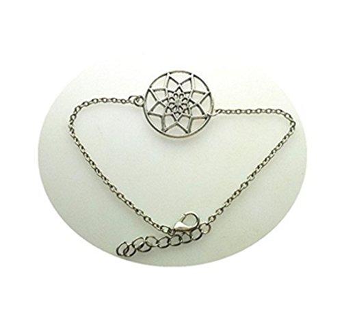 Pulsera Mandala, pulsera de flores, pulsera geométrica, joyería de yoga