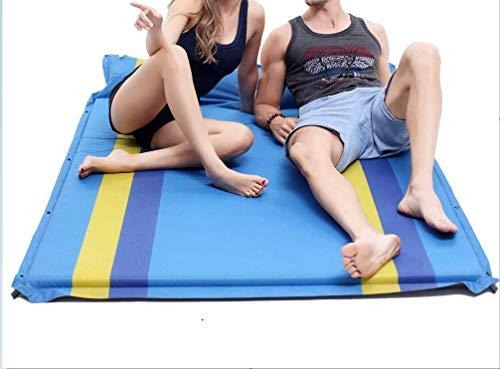 CHLXI Aufblasbare Camping Isomattenmatte Aufblasbare Isomatte, leichte kompakte Isomatte, tragbares aufblasbares Einzelbett zum Wandern im Hängemattenzelt Self-Inflating Pads -