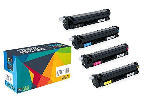 Preisvergleich Produktbild Do it Wiser ® 4 Kompatible Toner CF410X CF411X CF412X CF413X 410X für HP Color LaserJet Pro MFP M477fdw M477fdn M477fnw M452dn M452dw M452fdn M377dw