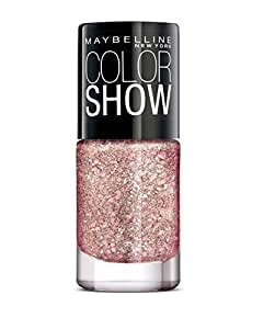 Maybelline New York Color Show Party Girl Nail Paint, Blushing Bubbly, 6ml