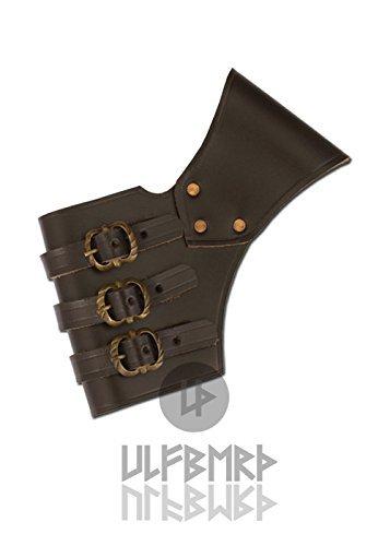 Schwerthalter, verstellbar aus Leder von ULFBERTH - Schwertgürtelhalter - (Gürtel Schwert)
