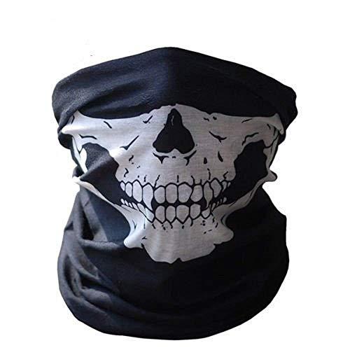 Inception Pro Infinite Balaclava - Bildschirm - halbes Gesicht - Maske - Skelett - Militär - Armee (Skelett Halb Maske)
