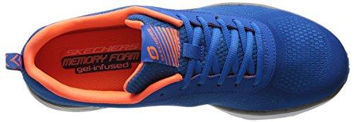 Skechers Air-Infinity, Chaussures de Sport Homme bleu (RYOR)