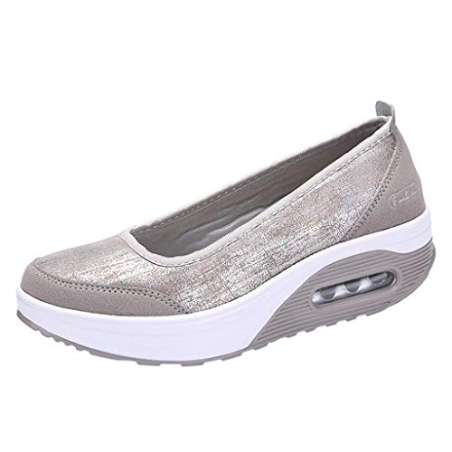 Schuhe, Resplend Mode Frauen Slip on sneaker Freizeit-Turnschuhe Sportschuhe Luftpolster-Plateauschuhe Freizeitschuhe Shake Schuhe