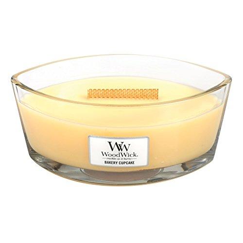Woodwick by Pajoma 83005candela profumata Bakery Cupcake Ellipse vetro, durata circa 50ore, 454g