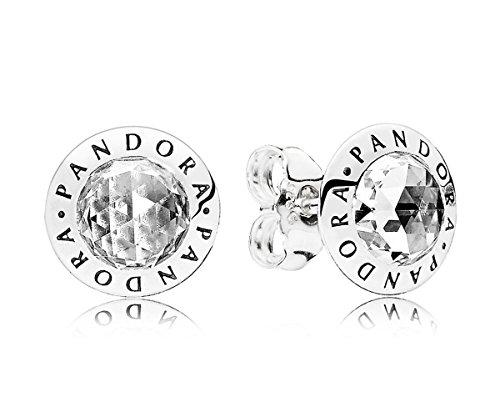 Pandora orecchini a perno donna argento - 296216cz