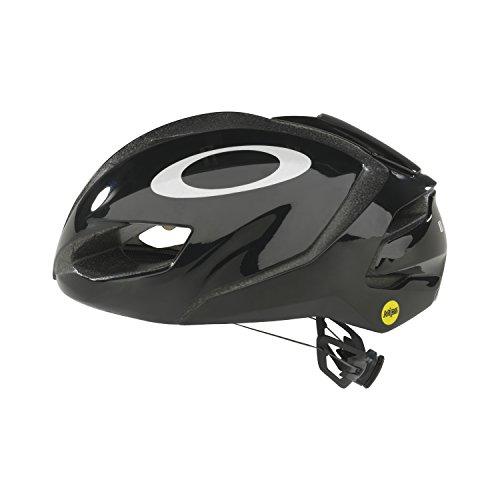 Oakley ARO5 Casco da bici da corsa di colore nero brillante, Oakley, Nero, 52-56 cm