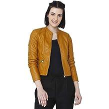 Vero Moda Vmeurope Favo Faux Leather Jacket IP, Blouson Femme b342c0fbde49