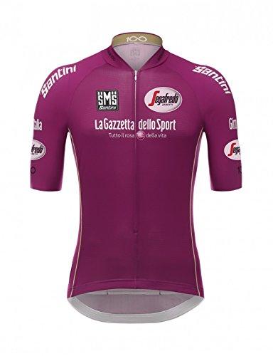 Santini Giro d'Italia, Maillot Manches Courtes Homme S Roug