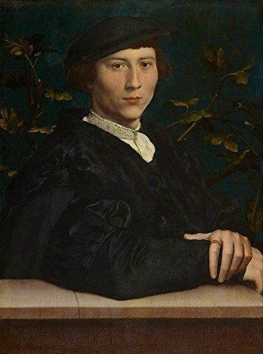 Das Museum Outlet-Portrait Of derich Born (1510-49). 1533(Royal Collection des Vereinigten Königreichs)-Leinwand Print Online kaufen (101,6x 127cm) Kitchen Collection Outlet