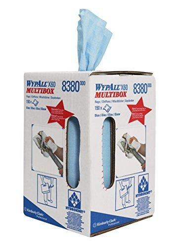 Preisvergleich Produktbild WYPALL X60 Wischtücher 24,5x42cm hellblau 150Bl.