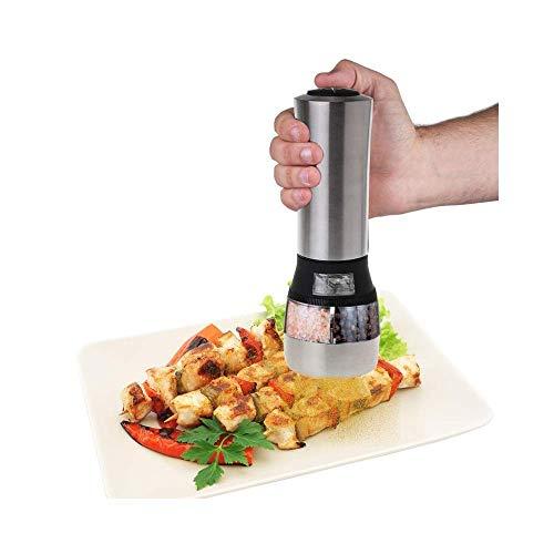 ZHAS Edelstahl Magnetic Spice Rack Pot Kräuterdose Jar Storage Holder Cook Stand Staubdicht sichtbar Gewürzglas Cruet Cruet Stand