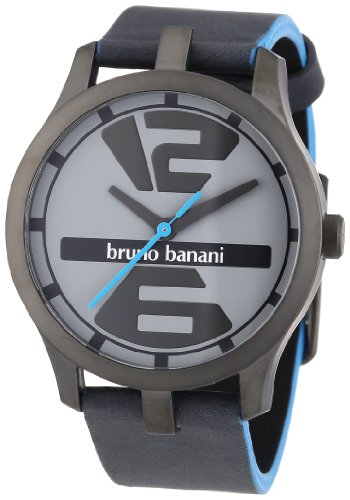 Bruno Banani Men's Quartz Watch BR21038 with Leather Strap