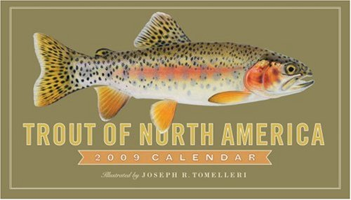 Trout of North America 2009 Calendar - America Del Wall Calendar