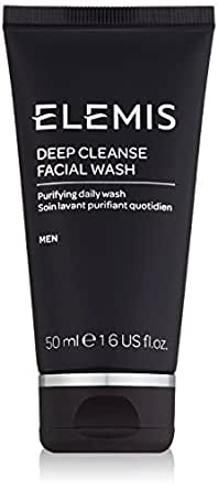 ELEMIS Deep Cleanse Facial Wash - Purifying Daily Wash for Men, 50ml