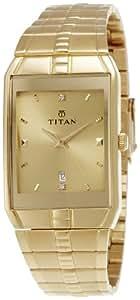 Titan Karishma Analog Champagne Dial Men's Watch -NK9151YM03