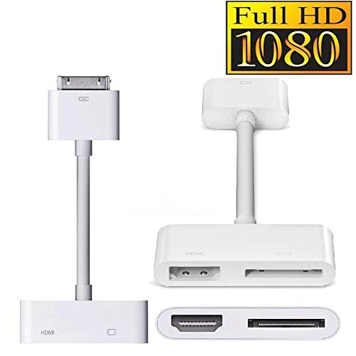 98950641eb5 SL Digital AV HDTV Adapter 30 Pin Dock Connector to HDMI for Pad Phone 4 4S