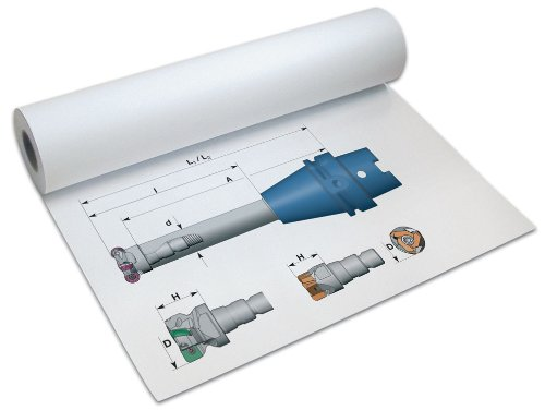 Papyrus Plotter-Papier DigitalPrint PPC, 75 g/qm, 914 mm x 175 m