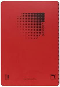 Pacsa 16467 - Bloc 90 g, polipropileno, tamaño folio, 80 hojas