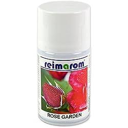 Raumduft Nachfüller Rose Garden 250 ml für Aerosol Dispenser mit lieblichem Rosenduft und Geruchsabsorber
