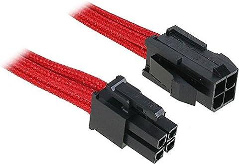BitFenix 4-Pin ATX 12V 45cm - cables électriques (Mâle/Femelle, CPU
