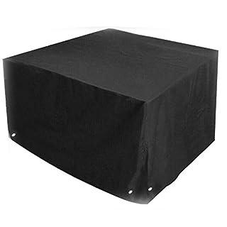 Großes, zugeschnittenes Abdeckungs-Set für den Grill, 126x126x74