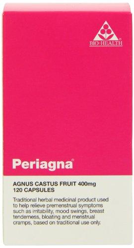 Bio Health Periagna - Agnus Castus 400mg - 120 Vegetarian Capsules
