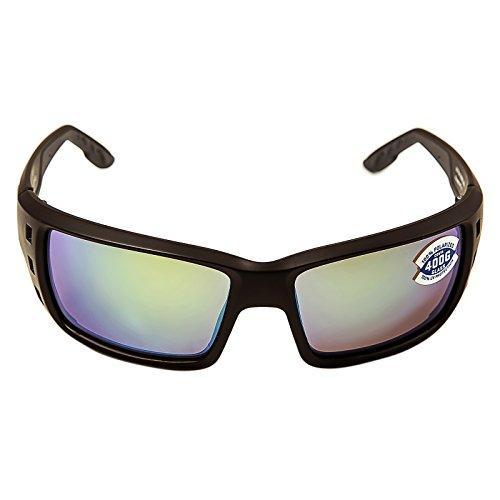 Costa Del Mar Fisch Sonnenbrille Gr. Einheitsgröße, Matte Black/Green Mirror