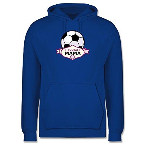 Fußball - Fußball Mama - Männer Premium Kapuzenpullover / Hoodie Royalblau