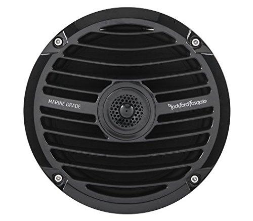 ROCKFORD FOSGATE RM0652B 16,5cm 2-Wege Marine/Outdoor/Boot Lautsprecher Schwarz (Boot Wege 2)