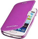 Samsung Galaxy S3 Mini i8200 Flip Cover Etui Housse avec fermeture magnétique en pourpre de PhoneStar