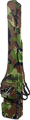Rutentasche RodBox Double Allround Rutenfutteral - 2 Fächer - Verschiedene Längen Farbe Woodland Größe 1,50 m