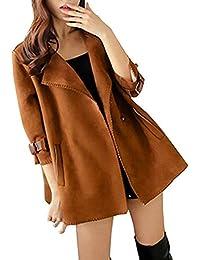 reputable site 1b88b e9e68 Amazon.it: camoscio giacca - 20 - 50 EUR / Donna: Abbigliamento