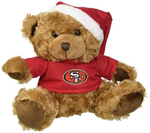 FOCO San Francisco 49ers Bär mit Nikolausmütze