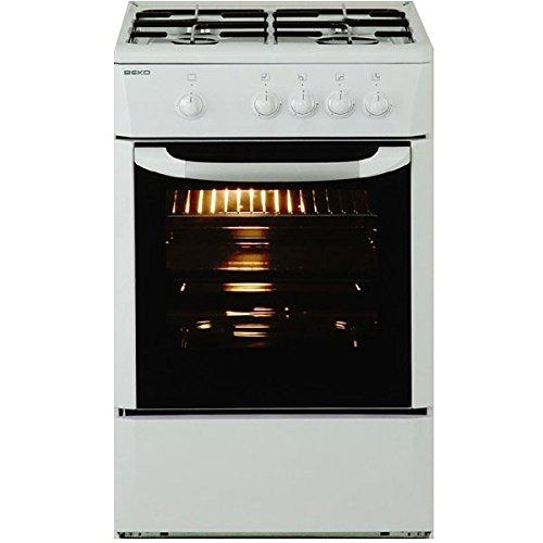 Beko - Cocina Conv. Beko Cg41008D, 4Fuegos - Gas/Gas - 85X50X50 -...