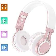 Auriculares Plegables Bluetooth, 4.0 Bluetooth Sobre el Oído Auriculares Inalámbricos Estéreo Hi-Fi 4